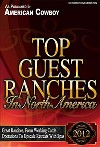 Colorado Top Guest Ranch AwardColorado Top Guest Ranch Award